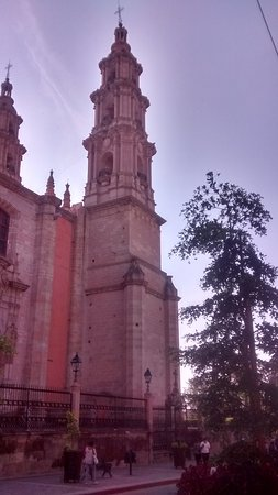 Lagos de Moreno, المكسيك: There were swallows nesting in the belfry in August, the month of the feria.