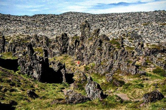 Hellnar, Island: Dritvik - Djupalonssandur