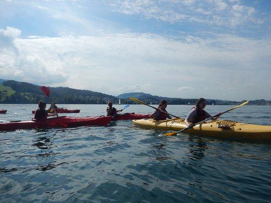 Buochs, Schweiz: Lernenden Sommerevent Hotel Seeburg Luzern