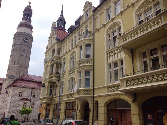 Boleslawiec, Pologne : spacerując po bolesławieckim rynku