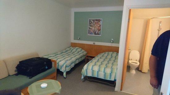 Farup, Danmark: Gode værelser med dårlige senge