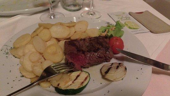 Skradin, Chorwacja: Beefsteak