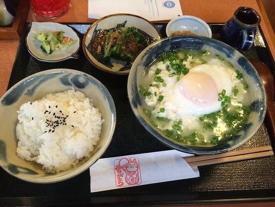 Ryukyusabo Suru: ゆし豆腐定食