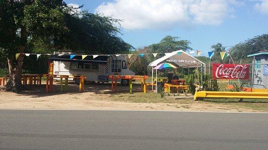 Esperanza, Puerto Rico: cositas ricas fast food with homemade taste.