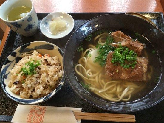 Ryukyusabo Suru: そば定食
