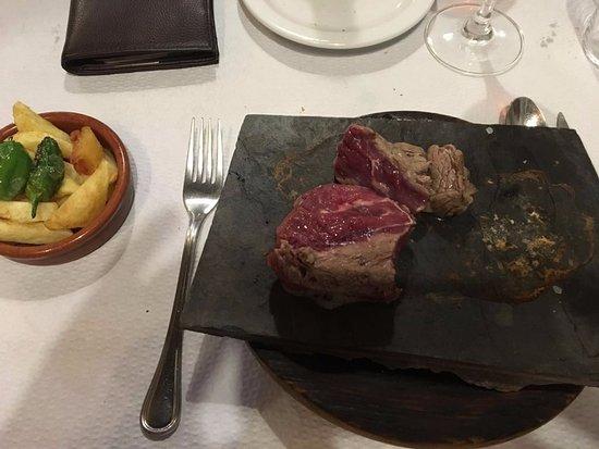Restaurant Rita Porta : Filete a la losa