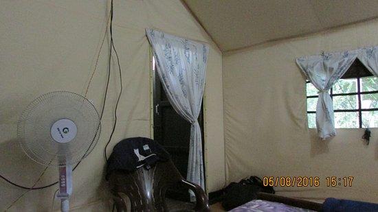 Mudumalai, India: Tented room