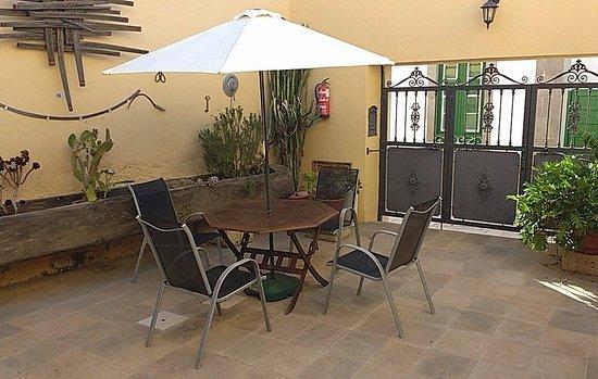 Granadilla de Abona, Spanyol: patio esterno