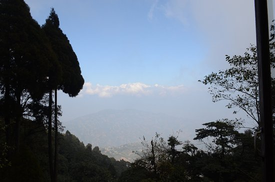 Lepchajagat, Inde : Mt.Kanchendzonga as seen from the room