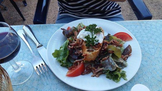 Ige, Frankrijk: Salade Lyonaise