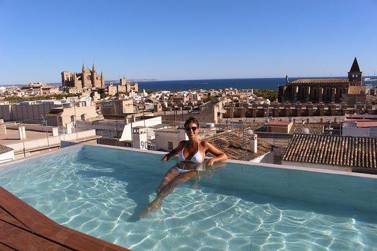 Rooftop fotograf a de nakar hotel palma de mallorca for Hotel palma de mallorca