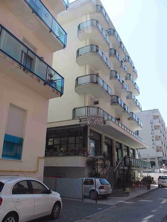 Hotel Chic: Rohový balkon