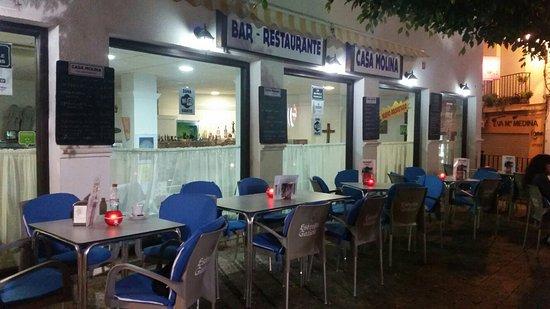 Casa molina almunecar restaurantanmeldelser tripadvisor for Casa granada tirso de molina