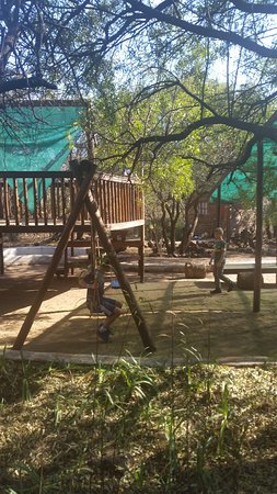Centurion, Sydafrika: jungle gym for the kids
