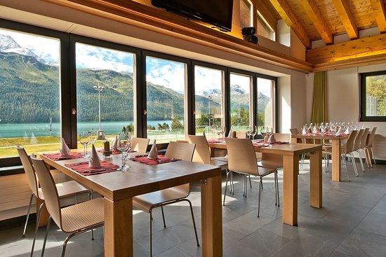 Silvaplana, Schweiz: Restorant