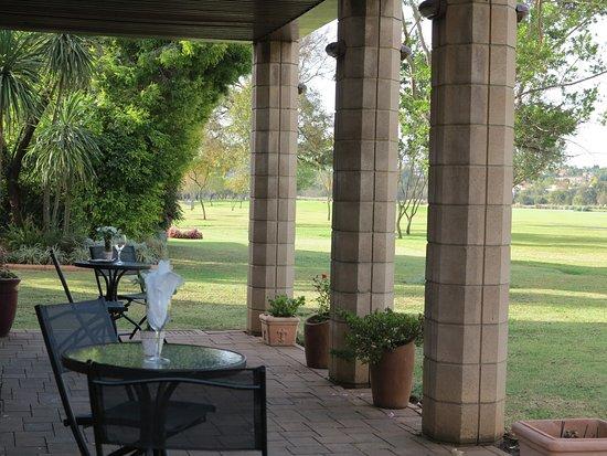 Centurion, Sudáfrica: Patio Views