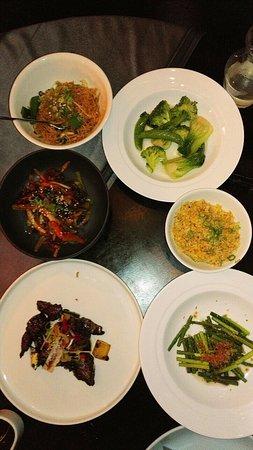 Chefs Table menu- delicious!