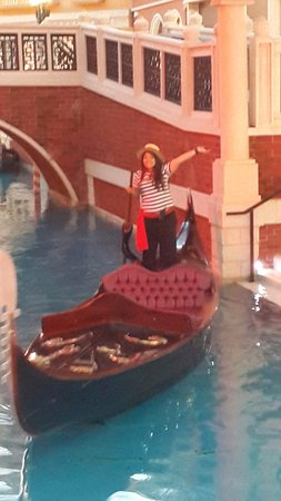 The Venetian Macao Resort Hotel: The famous canal cruise inside the hotel :)
