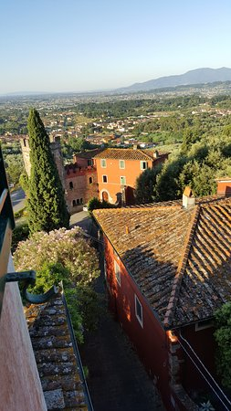 Buggiano Castello, Italia: View from our room
