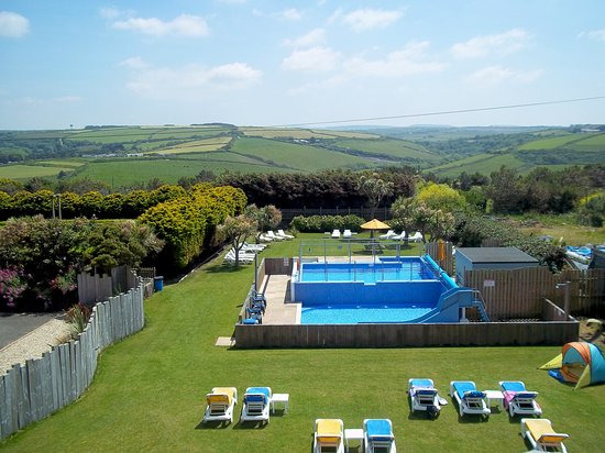Sands Resort Hotel & Spa: outdoor pool sands resort hotel cornwall