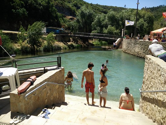Ourem, Portugal: The Artificial Pool
