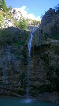 waterval in de buurt
