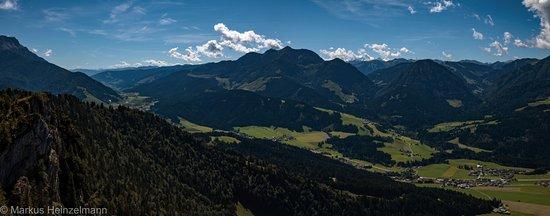St. Ulrich am Pillersee, Austria: Blick vom Jackobskreuz