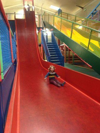 Hatton, UK: the best slide
