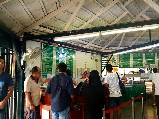 Batu Ferringhi, Malaysia: cafe @ Tropical Fruit Farm
