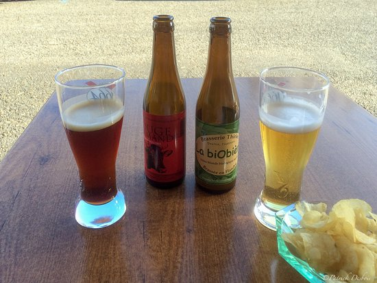 Bazas, Francia: Bieres bio...