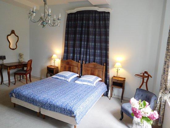 Lannoy, Frankrike: Chambre Marie-Antoinette lit double