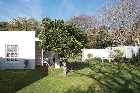 Tokai, Sydafrika: The lovely garden at Morningside Cottage