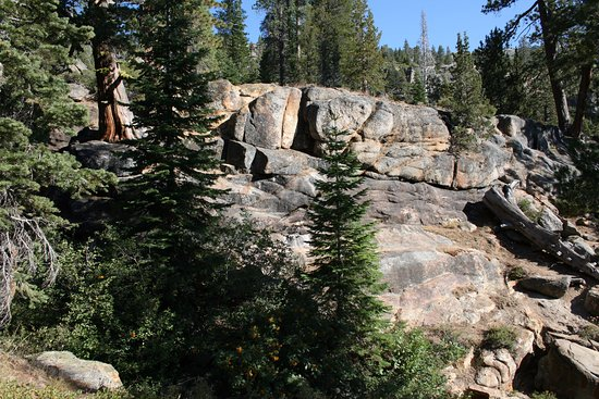 Squaw Valley, Kalifornia: Rocks