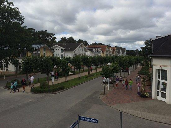 Ostseebad Baabe, Germania: Blick auf die Strandstraße