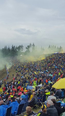 Brno, République tchèque : Dry for qualifying but wet for race day. Though, loved every minute!