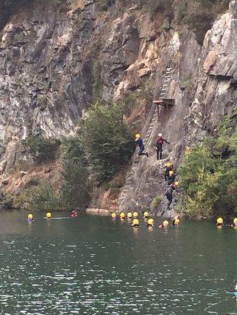 Menheniot, UK: First ledge
