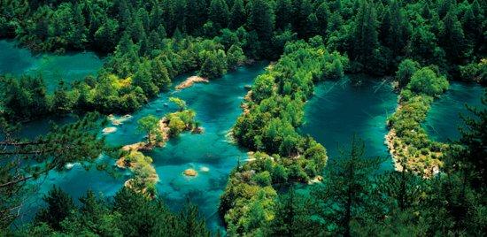 เสฉวน, จีน: Sparkling Lake