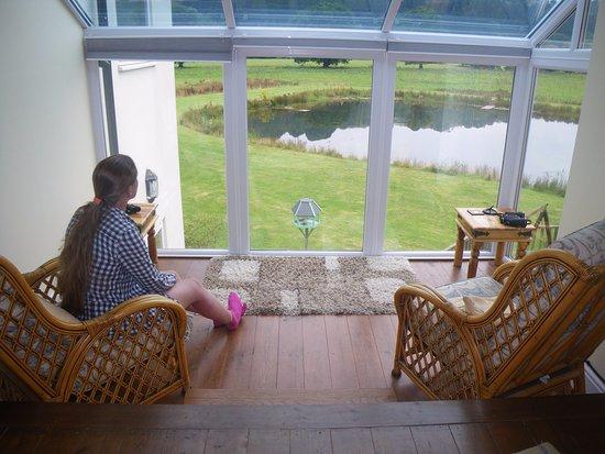 Dolanog, UK: Sitting in the upstairs lounge