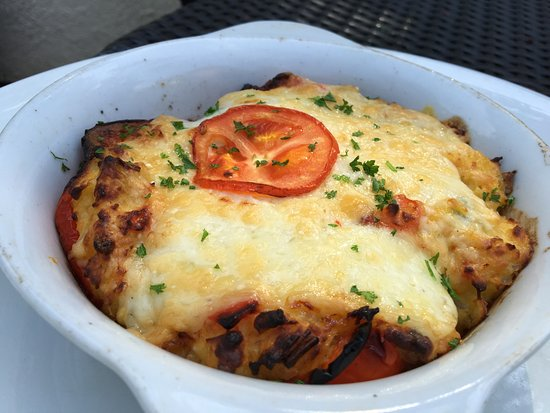 Sanctuary of Healing Cafe: stuffed peppers