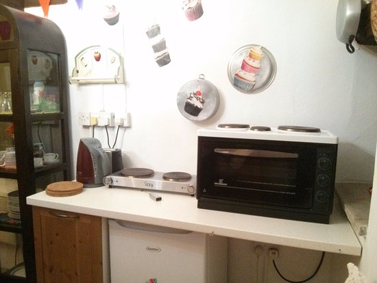 Kalavasos, Chypre : The kitchen (separate from the main rooms)