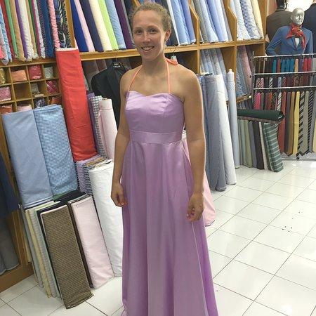 بوفت, تايلاند: Silk dress