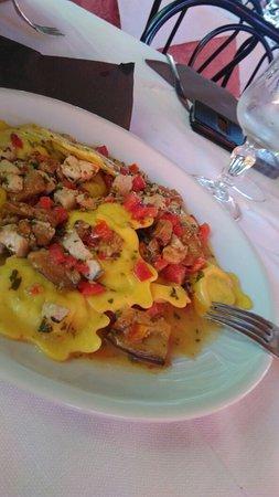 San Giorgio, Italia: Oggi come non mai ho mangiato divinamente.
