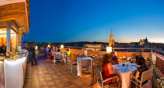 Province of Toledo, สเปน: Toledo al atardecer