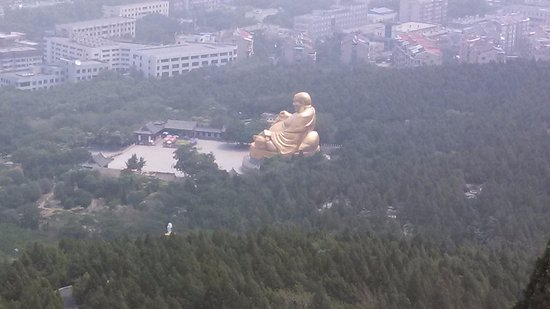Jinan, Kina: The park is expansive and requires a lot of walking