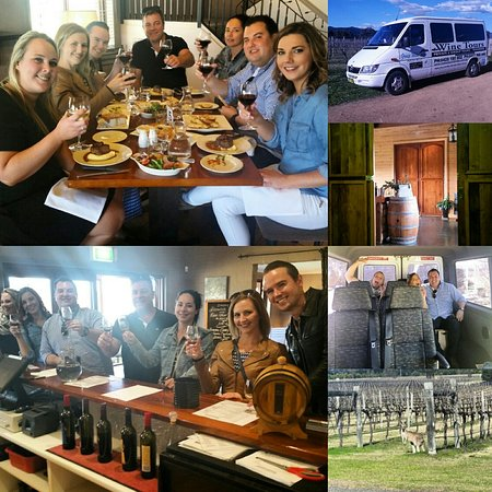 Wine Tour in Broke. ... lots of fun!