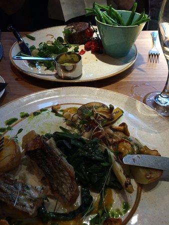 Fantastic meal at transformed Hotel
