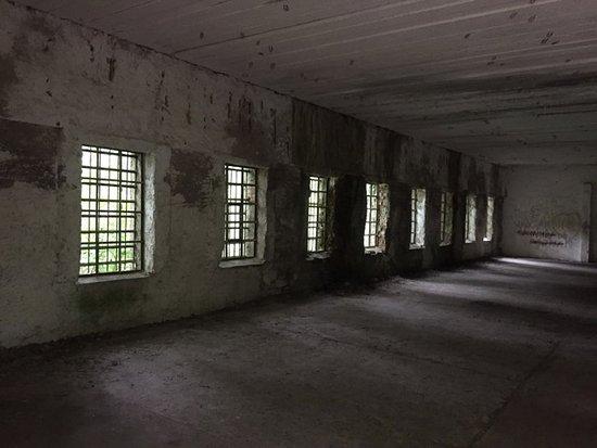Gierloz, Polen: Einblick in eines der Gebäude.