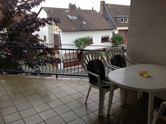 Hotel Princess - Rodenbach : Common balcony at first floor