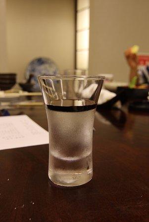 Хигасикава-те, Япония: 水のゼリー。自慢の湧水をゼリーにしたそうです。