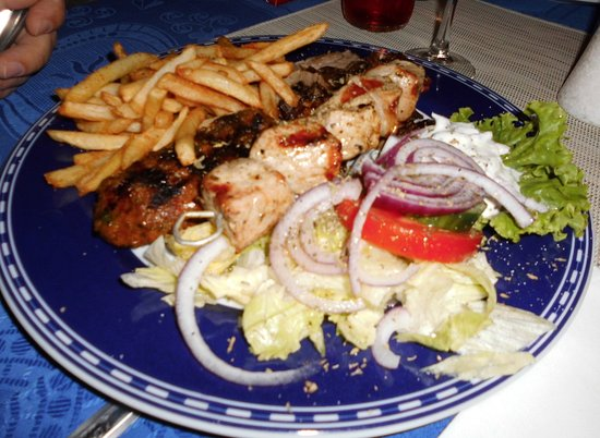 Restaurante greek taverna en san bartolom de tirajana con for Akropolis greek cuisine merrillville in